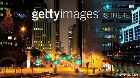 Screengrab of Getty Images