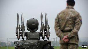 Rapier missile
