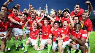 London Welsh lift the Championship title