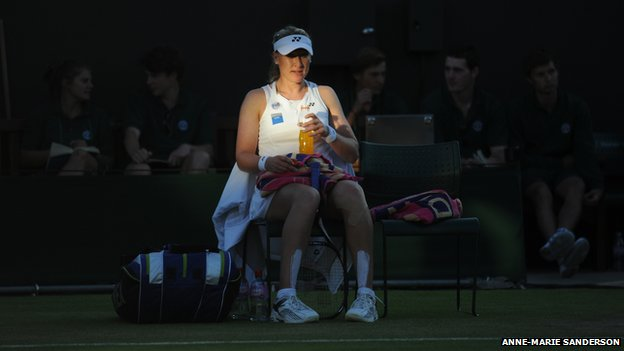 Elena Baltacha, June 2012