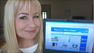 Weather presenter Sian Lloyd