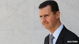 Syrian President Bashar al-Assad (File)