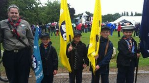 Scouts at Peterborough