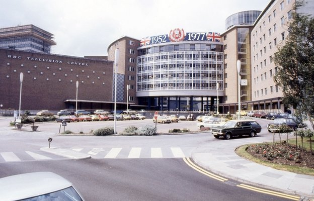 Television Centre in 1977