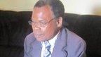 Hudson Kapemba, a Zambian undertaker