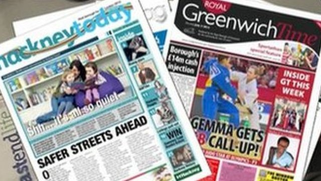 Council newspapers
