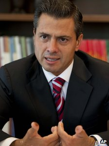 Enrique Pena Nieto on 2 July