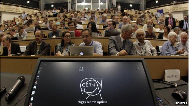 Cern lecture theatre