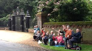 Sandringham gates
