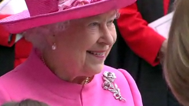 Queen Elizabeth II at Glasgow Cathedral