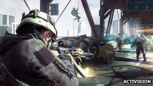 Screenshot from Call of Duty Online