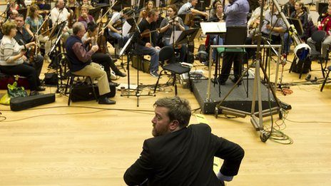 BBC Philharmonic and Elbow frontman Guy Garvey