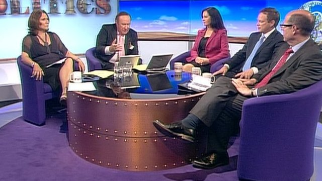 Daily Politics panel