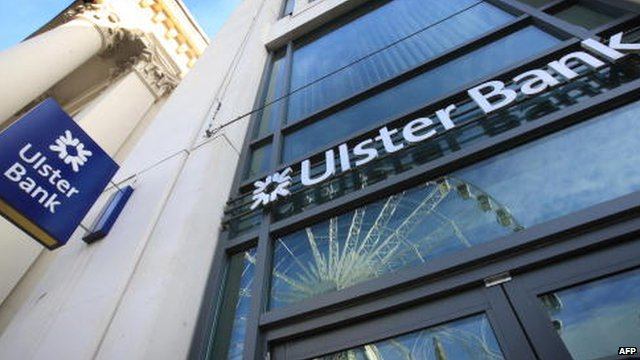 Ulster Bank headquarters in Belfast, Northern Ireland