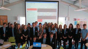 Upton-By-Chester pupils