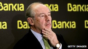 Rodrigo Rato, former chairman of Bankia