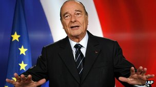 Jacques Chirac in 2007