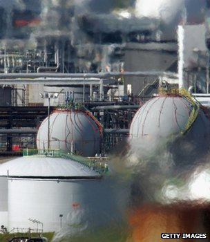 File image of a UK refinery (Getty Images)