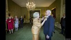 Dutch queen Beatrix awards restoration and interior architect Krijn van den Ende with the Order of the House of Orange