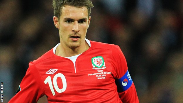 Wales captain Aaron Ramsey