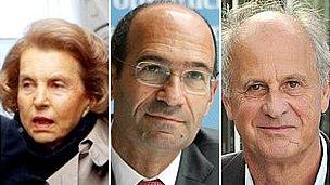 Liliane Bettencourt, Eric Woerth, Patrice de Maistre