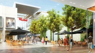 Westfield CGI