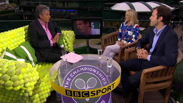 John Inverdale talks to Tracy Austin and Greg Rusedski