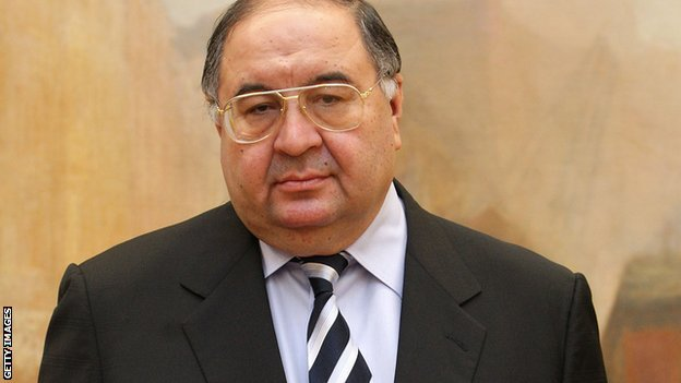 Alisher Usmanov