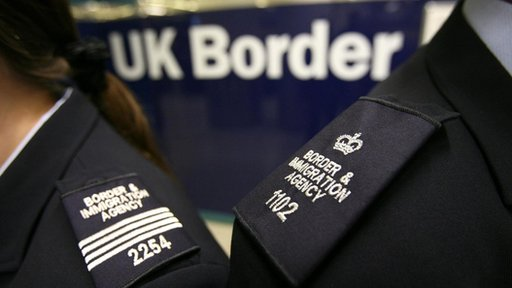 UK Border Agency officers