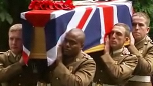 Pte Bellingham funeral