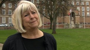 The leader of Bristol City Council, Barbara Janke, announces she is to step down