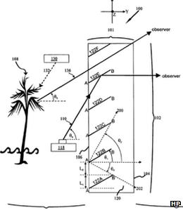 HP patent filing