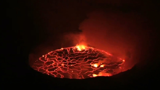 Nyiragongo lava lake