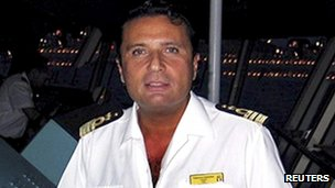 File image of Francesco Schettino