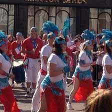 Samba band in Ipswich