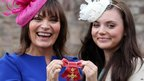 Lorraine Kelly with her daughter Rosie