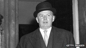 Former Chancellor Selwyn Lloyd