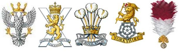 Battalion badges