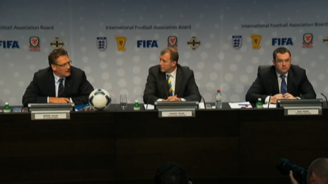 Fifa press conference 