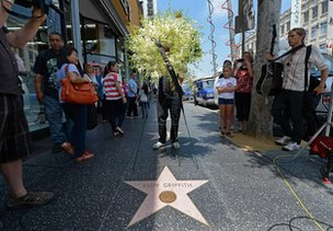 Andy Griffith&#039;s star on Hollywood Walk of Fame