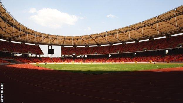 The National Stadium in Abuja