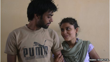 Harjinder and Navjot, 21 A hideaway for India's rebel couples