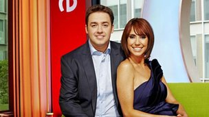 Jason Manford and Alex Jones on The One Show