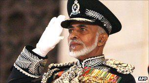 Sultan Qaboos, ruler of Oman