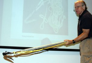 David Mattila lecturing