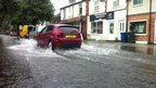 Flooding in West Bridgford