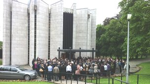 Funeral (Pic: Brian Innes)