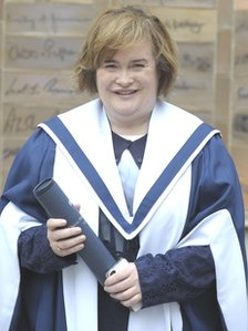 Singer Susan Boyle
