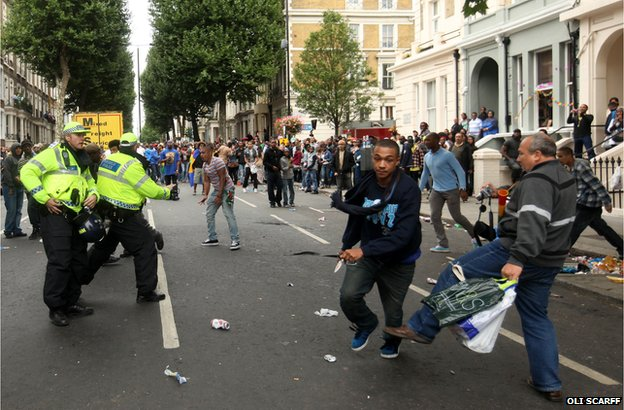 Notting Hill Carnival Stabbing by Oli Scarff.
