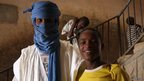 Souleymane (right) and a Tuareg friend